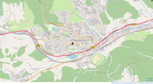 Open Street Map Ansicht